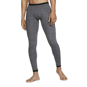 Men's Underwear Tights Nike Pro Dry Tights  Charcoal Heather/Black BV5517071