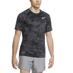 Men's Fitness & Training T-Shirt Nike Pro Camo TShirt  Iron Grey/White CU4966068