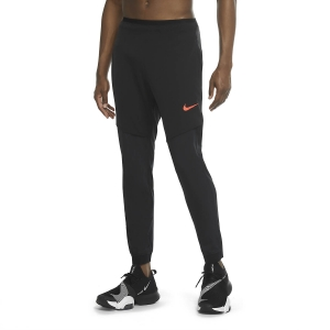 Men's Fitness & Training Tights Nike Pro Flex Rep Pants  Black/Bright Crimson CU4980010