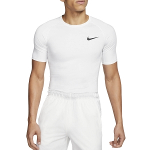 Men's Fitness & Training T-Shirt Nike Pro TShirt  White/Black BV5631100