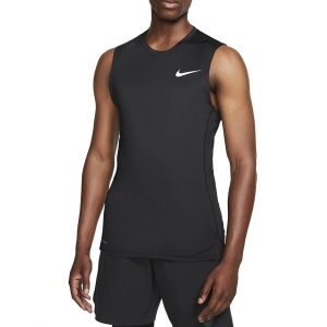 Men's Fitness & Training Tank Nike Pro Swoosh Tank  Black/White BV5600010