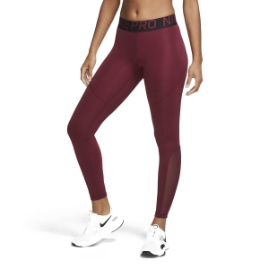 Women's Running Tight Nike Pro Tights  Dark Beetroot/Black AO9968638
