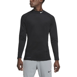 Men's Fitness & Training Shirt and Hoodie Nike Pro Wam Shirt  Black/White CU4970010