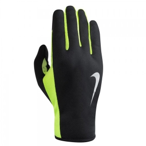 Guantes Running Nike Rally 2.0 Run Guantes  Black/Volt N.RG.E7.054