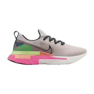 Nike React Infinity Run Flyknit Premium - Violet Ash/Dark Smoke/Grey Pink Blast