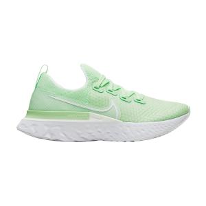 Nike React Infinity Run Flyknit - Vapor Green/White/Spruce Aura