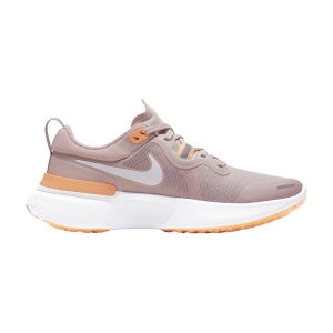 Women's Neutral Running Shoes Nike React Miler  Champagne White/Orange Pulse/Barely Rose CW1778602