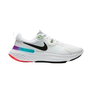 Nike React Miler - White/Black/Vapor Green/Hyper Jade
