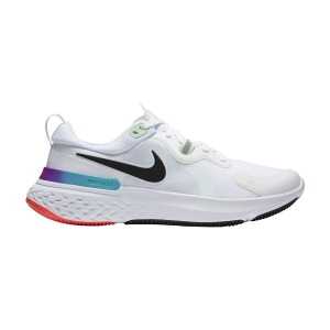 Men's Neutral Running Shoes Nike React Miler  White/Black/Vapor Green/Hyper Jade CW1777102