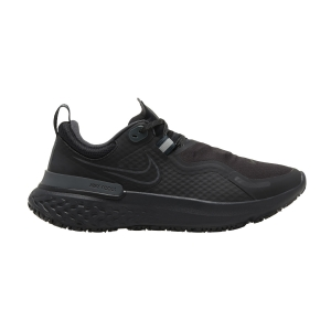 Zapatillas Running Neutras Mujer Nike React Miler Shield  Black/Anthracite CQ8249001