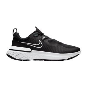Nike React Miler Shield - Black/White/Pure Platinum/Dark Smoke Grey