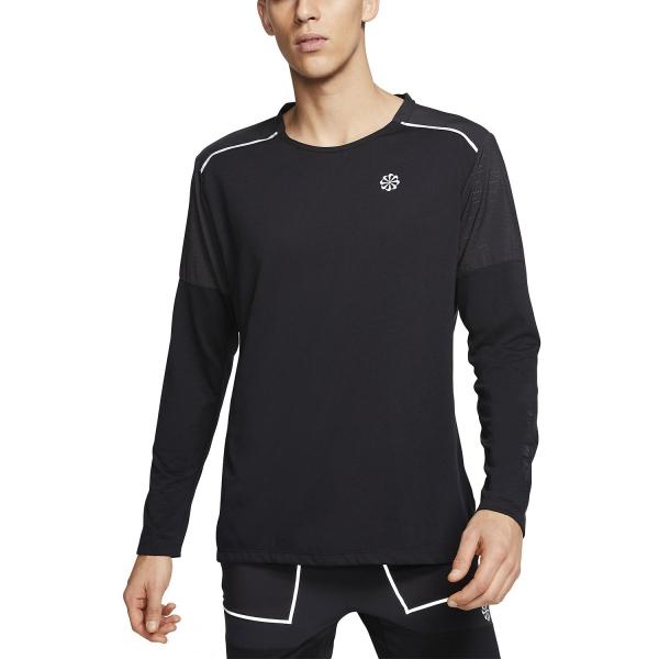 Nike Rise 365 Hybrid Men's Running Shirt Black