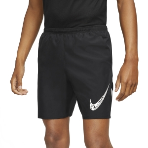 Pantalones cortos Running Hombre Nike Run Wild Run 7in Shorts  Black/White DA0169010