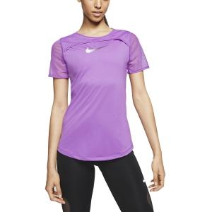 Nike Runway Maglietta - Purple Nebula/White