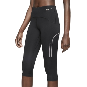 Women's Running Tight Nike Speed Capri  Black/Gunsmoke CT0833010