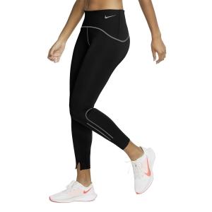 Nike Speed Matte 7/8 Tights - Black/Gunsmoke
