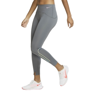Women's Running Tight Nike Speed Matte 7/8 Tights  Iron Grey/Gunsmoke CV7313068