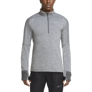 Camisetas Running Hombre Nike Sphere Element Camisa  Iron Grey/Htr/Grey Fog/Reflective Silver CU6087068