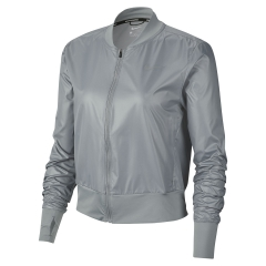 Nike Swoosh Jacket - Particle Grey/Reflective Silver