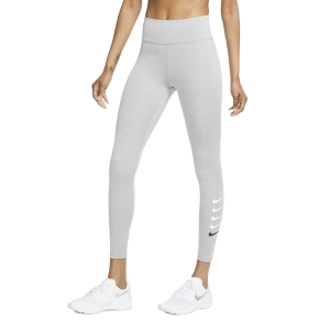 Women's Running Tight Nike Swoosh Run 7/8 Tights  Particle Grey/Reflective Silver CU3116073