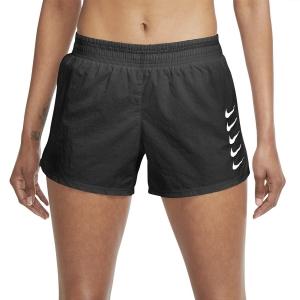 Nike Swoosh Run 3in Pantaloncini - Black/White