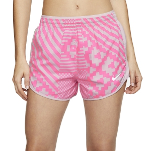 Women's Running Shorts Nike Tempo Lux 3in Shorts  Digital Pink/Plum Chalk/Reflective Silver CJ1890679