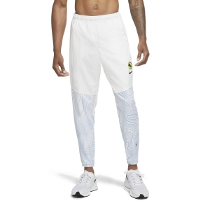 Men's Running Tights Nike Therma Essential Ekiden Pants  White/Black DC4037100