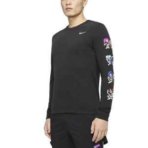 Maglie Running Uomo Nike Tokyo Dry Maglia  Black CN8101010