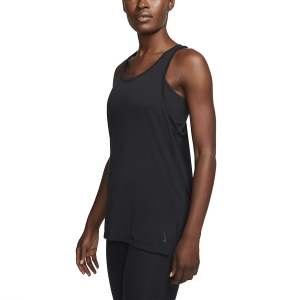 Canotta Fitness e Training Donna Nike Yoga Canotta  Black/Dark Smoke Grey CQ8826010