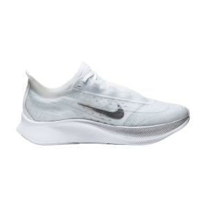 Women's Performance Running Shoes Nike Zoom Fly 3  Pure Platinum/Metallic Silver/White Aura AT8241002