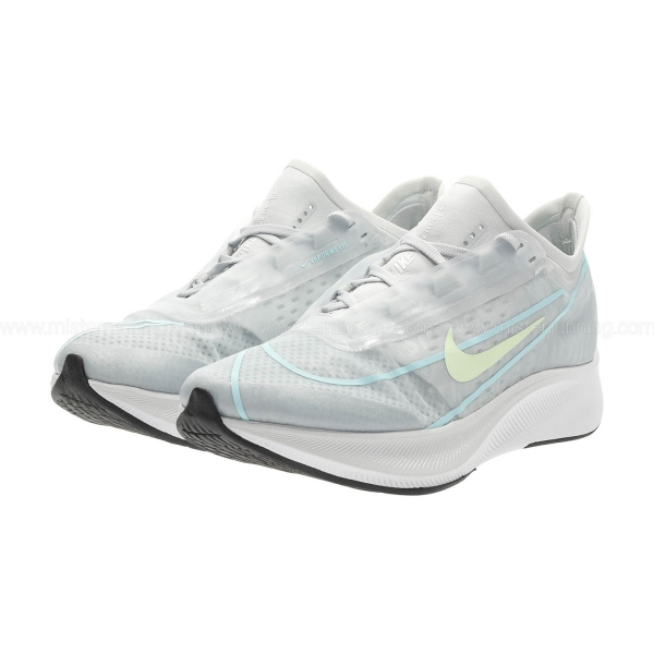 Nike Zoom Fly 3 - Pure Platinum/Barely Volt/Glacier Ice