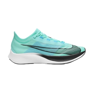 Scarpe Running Performance Uomo Nike Zoom Fly 3  Aurora Green/Black/Chlorine Blue/White AT8240305