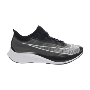 Men's Performance Running Shoes Nike Zoom Fly 3  Black/White/Volt AT8240007