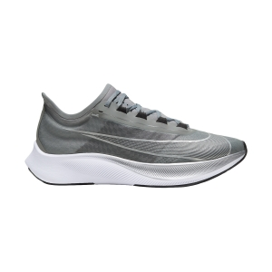 Zapatillas Running Performance Hombre Nike Zoom Fly 3  Particle Grey/Metallic Silver/Black AT8240009