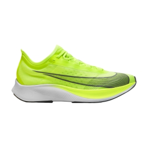 Scarpe Running Performance Uomo Nike Zoom Fly 3  Volt/Grey Smoke/White AT8240700