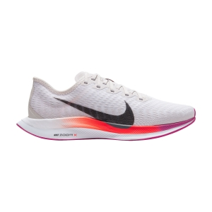 Women's Neutral Running Shoes Nike Zoom Pegasus Turbo 2  Vast Grey/Smoke Grey/White/Fire Pink AT8242009