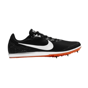 Men's Racing Shoes Nike Zoom Rival D10  Black/White/Iron Grey/Hyper Crimson 907566007