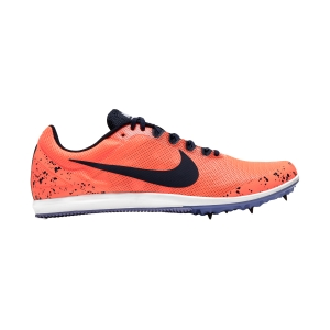 Men's Racing Shoes Nike Zoom Rival D10  Bright Mango/Blackened Blue/Purple Pulse 907566800