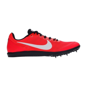 Men's Race Running Shoes Nike Zoom Rival D10  Laser Crimson/White/Black/University Red 907566604