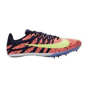 Zapatillas Competición Hombre Nike Zoom Rival S 9  Bright Mango/Light Zitron/Blackened Blue 907564801