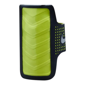 Running Armband Nike Distance Smartphone Arm Band  Black/Lime N.RN.42.080.OS
