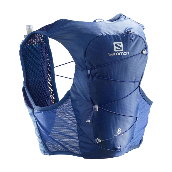 Salomon Active Skin 8 Set Backpack - Nebulas Blue