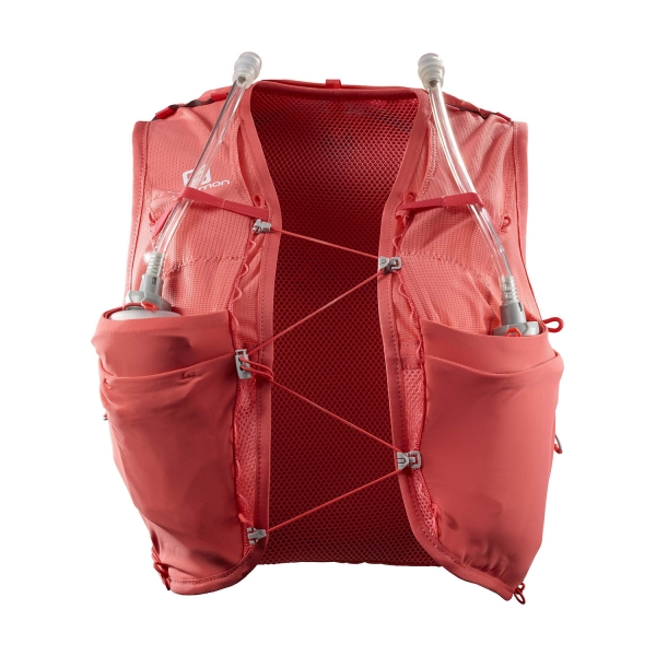 Salomon Adv Skin 8 Set Backpack - Cayenne/Porcelain Rose