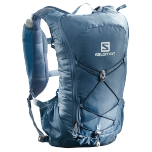 Salomon Agile 12 Set Backpack - Copen Blue/Dark Denim
