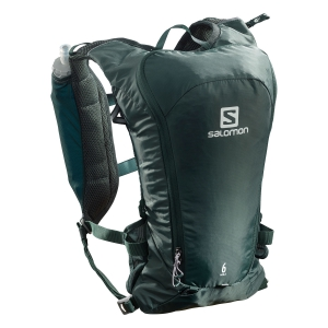 Salomon Agile 6 Set Backpack - Green Gables