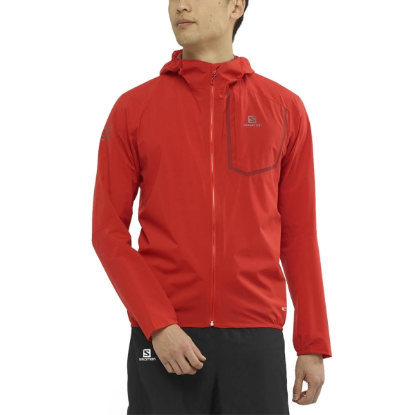 Salomon Bonatti Pro WP Jacket - Goji Berry
