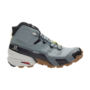 Women's Outdoor Shoes Salomon Cross Hike Mid GTX  Lead/Stormy Weather/Charlock L41118900