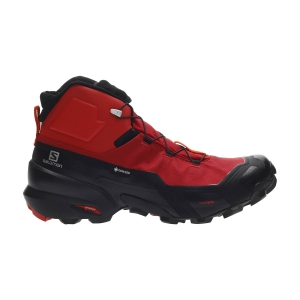 Men's Outdoor Shoes Salomon Cross Hike Mid GTX  Goji Berry/Black/Red Orange L41118700