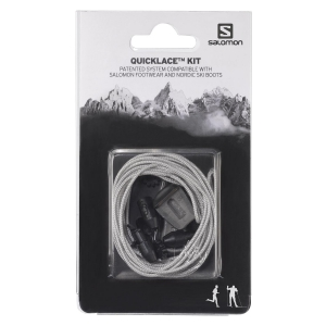 Lacci rapidi  Salomon Quicklace Kit  Grey L32667600