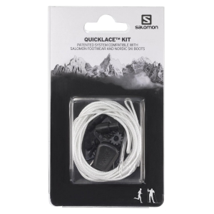 Lacci rapidi  Salomon Quicklace Kit  White L32667300